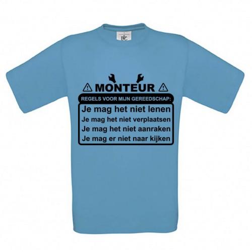 Monteur - Regels voor mijn Gereedschap