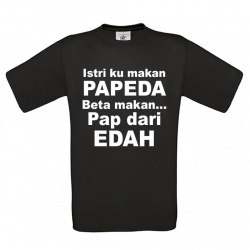 Istari ku makan PAPEDA Beta makan Pap dari EDAH