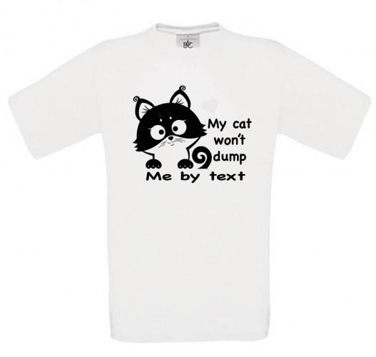 My Cat Won't Dump Me By Text