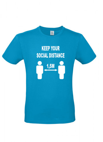 Keep your Social Distance 1,5 meter
