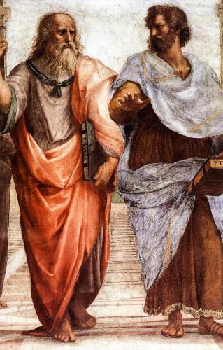 Plato en Aristotle