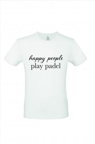 Happy People Play Padel